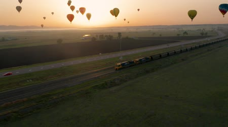 plamen : Balloons Taking Off A Balloon Festival. Australia