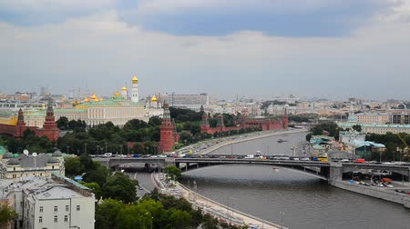 bulutsuz : View of the Kremlin and River Moskva, Russia