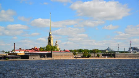 bástya : Peter and Paul Fortress and river Neva