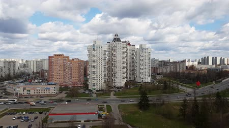 administracja : Moscow, Russia - April 29. 2018. General view of Zelenograd administrative district