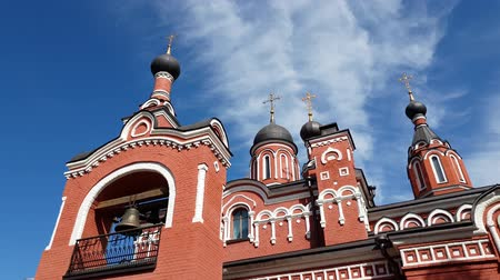 bell tower : Trinity temple in Skhodnya, Russia