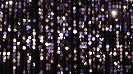 ezüst : Abstract glittering lights, silver background, a real shot video in the blur