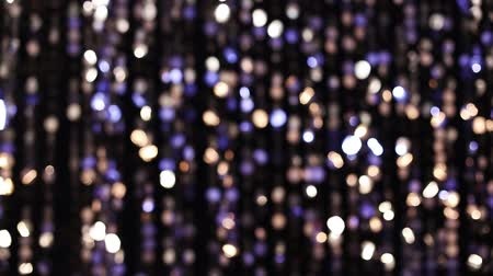 srebro : Abstract glittering lights, silver background, a real shot video in the blur