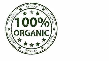 organic : Animated ink stamp 100% Organic. Loopable, includes alpha channel