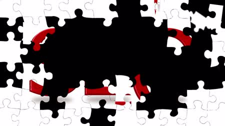 seo : Jigsaw puzzle pieces coming together to show the letters SEO