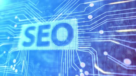 seo : Animated SEO background Stock Footage