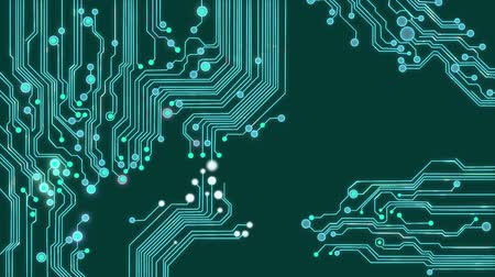 bordo : Animated printed circuit board background