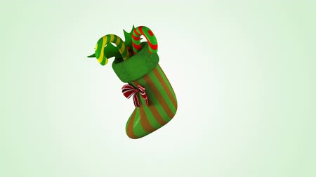 happy socks : Christmas candy sock dancing