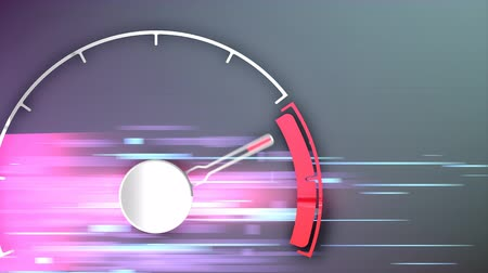velocímetro : Design analog speed meter