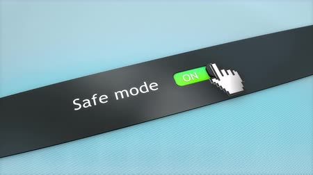 cursore : Application setting Safe mode