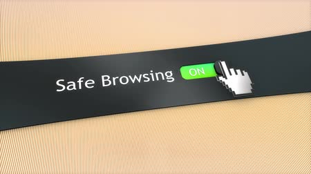 kursor : Application setting Safe browsing.