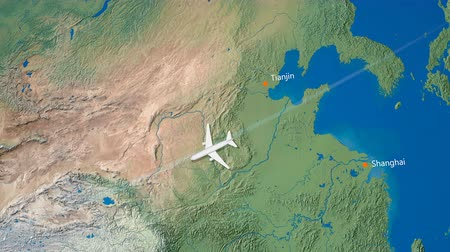 pas : Air travel flying route destination, Japan Iran.
