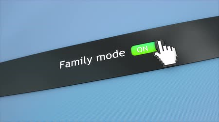 kursor : Application setting Family mode Wideo