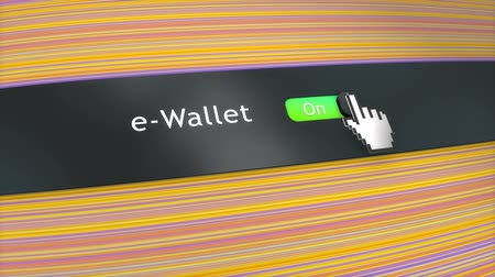 kursor : Application setting eWallet Wideo