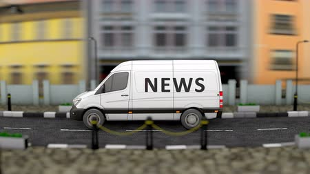 muhabir : Media and news van