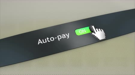 kursor : Application setting Auto pay Wideo