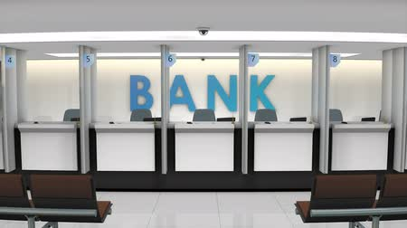 intézmény : Local banking service counter