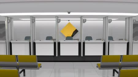 licznik : March 2019, Editorial, 3D animation, CommonWealth Bank retail counter