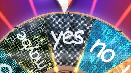 ruletka : Game show wheel of decision. Wideo