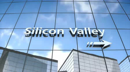 silisyum : 3D animation, Silicon valley building