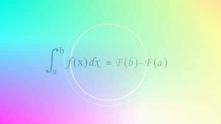 físico : Computer generated, Mathematical equation background, Calculus equation. Vídeos
