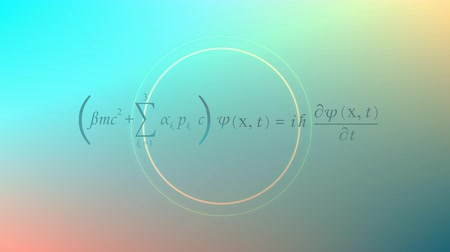 físico : Computer generated, Mathematical equation background, Dirac equation.