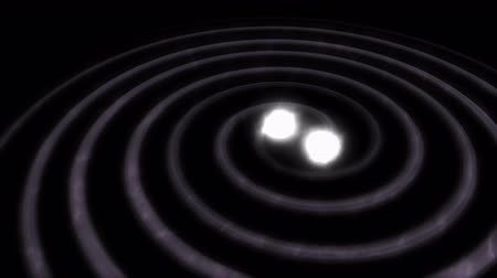 relativity : Computer generated, Artist visualise Gravitational wave.