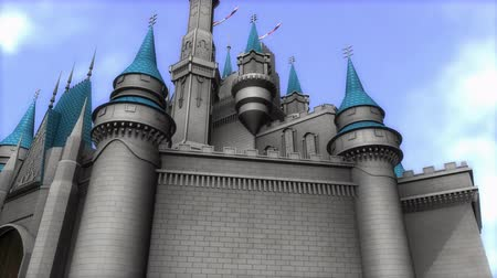 magic kingdom : Computer generated, magical castle
