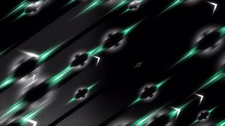 zděšený : Computer generated, abstract background animation, flying arrow.