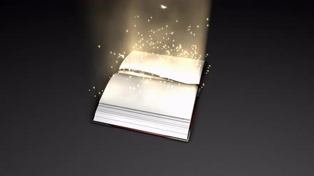 livros : Computer generated, Fantasy and magical book animation.
