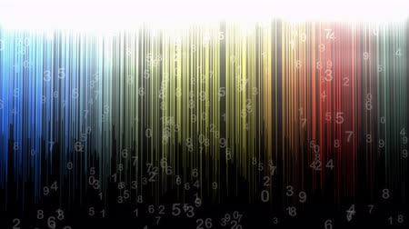 aritmética : Numerical background animation, abstract, art, random, stripes.