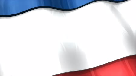 クリミア半島 : 3D flag, Crimea, waving, ripple, Europe.