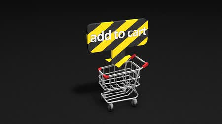 add to cart : Add to Cart concept animation.