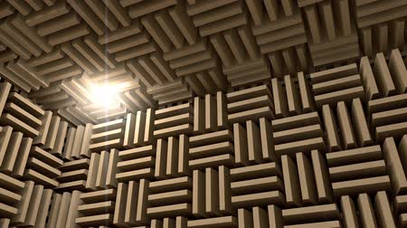 akusztikus : Sound proof room, anechoic chamber.