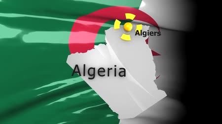 political intervention : Crisis location map series, Algeria.