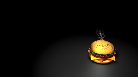 konzumovat : Computer generated, Conceptual animation rendering of food bomb.