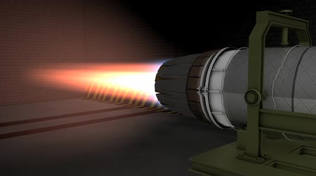 vetor : Jet engine test fired, development, engineering, technology, supersonic, stealth, new, fighter, defend.