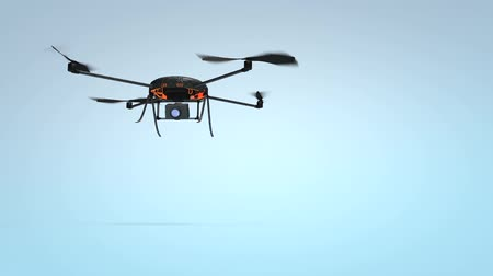 mounted : Quadcopter. Micro drone, aerial, photography.