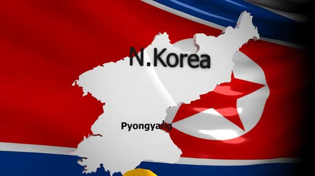 dprk : Crisis location map series, North Korea.