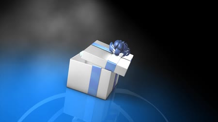 kutu : Empty box, paper, surprise, concept 3d animation.