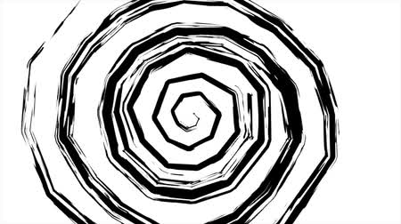 traumatic : Fancy hypnotic spiral, retro, style, background.