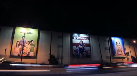 janeiro : Large TV Show Posters on wall of WB Studios on January 24, 2018