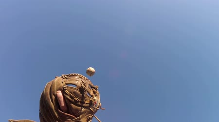 Catching baseball in slow motion