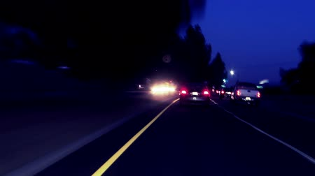 Night Driving POV time lapse  hyperlapse