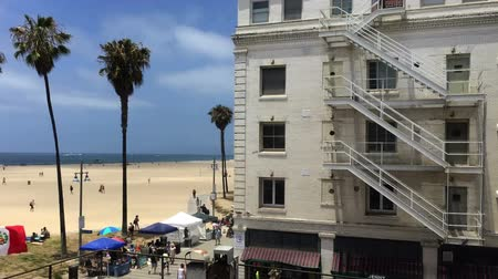 Venice Beach hotel on the boardwalk