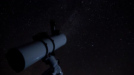 astronomia : Astro timelapse Archivo de Video