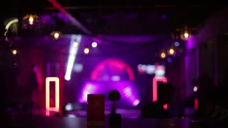 discotheque : background lighting