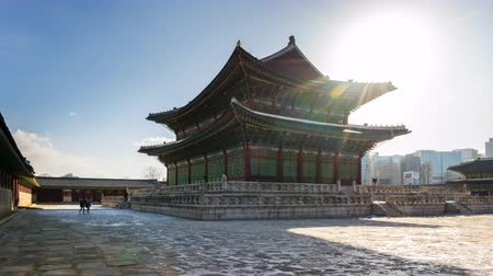gyeongbok : Gyeongbokgung palace in Seoul city, South Korea