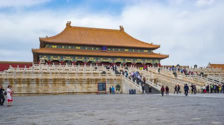 Forbidden city Beijing view of Hall of Supreme Harmony in Beijing, China