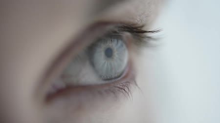 Łzy : Close-up of a womans eye